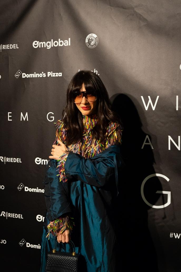Natalia Ferviú (@nataliaferviu) con vestido de MadridManso