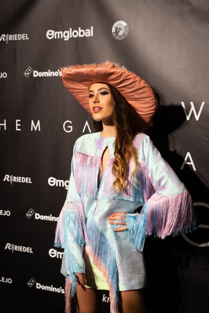 La Instagramer Sara Fructuoso (@sarafructuoso__) vestida con total look de @dominnico